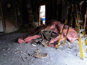 fire damage and clean up