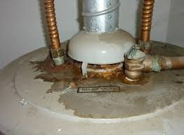 water heater corrodid pipes