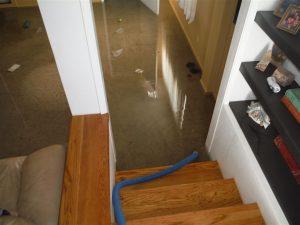 Flooded Residential Floors