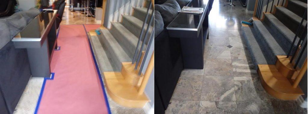 Protecting undamaged flooring
