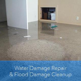 water damage repair flood damage cleanup